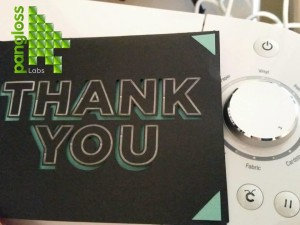 Cricut Thank You Card Crafting Project